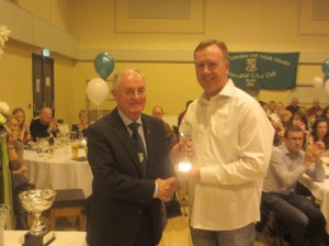 Underage Club Person of the Year Billy Bell