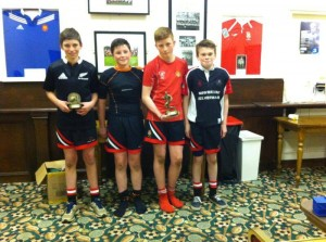 Well done to our Moorefield players who received awards at the Cill Dara rugby presentation night