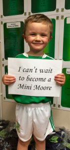 Mini Moore, First Touch, Moorefield