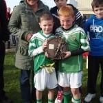 Joint Captains Josh McLoughlin and Eoin Meehan